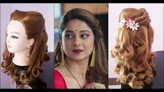 Easy Hairstyle For Party || Hairstyle For Occasions || Party Hairstyle Inspired By Zoya Bepanah