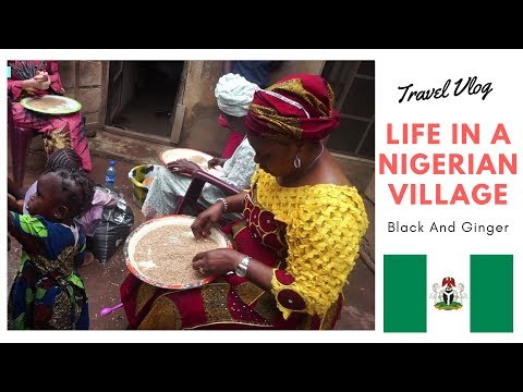 Life in an African Village in Kogi Nigeria By Black And ginger