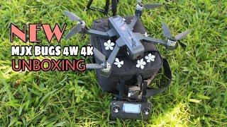 New Mjx Bugs 4w 4k Unboxing Drone Fitur Paling Lengkap
