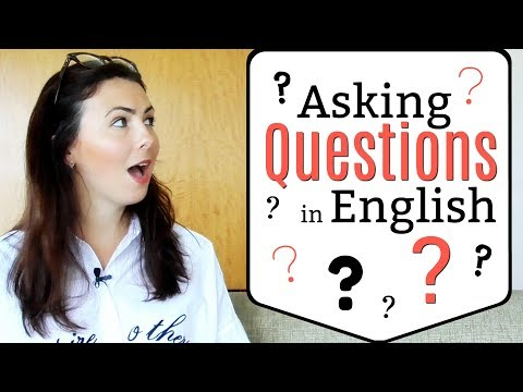 Asking Questions in English | Question Structure | Fix Your Grammar Mistakes!