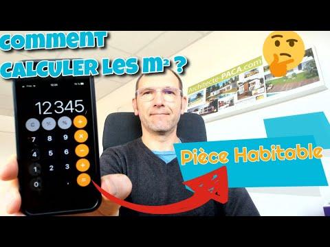 👁️ Comment Calculer les m2 d'une pièce habitable ?