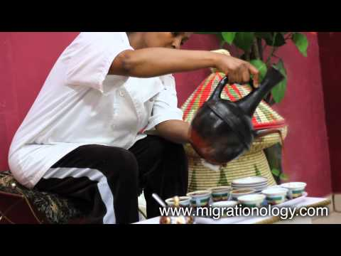 Ethiopian Coffee Ceremony - How to Drink Traditional Coffee!
