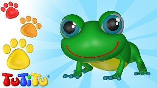 TuTiTu Animals | Animal Toys for Children | Frog and Friends