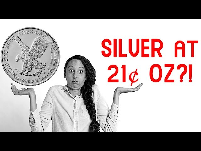COMEX Silver Has Traded to 21¢ oz