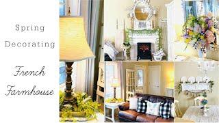🌿 SPRING DECORATING FRENCH FARMHOUSE CHIC DOLLAR TREE DIYS🌿I LOVE SPRINGep10 Olivia Romantic Home