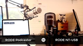 Podcast Microphone Review, RODE Podcaster vs RODE NT-USB Comparison