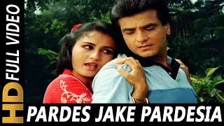 Pardes Jake Pardesiya Bhool Na Jana Piya | Lata   - YouTube