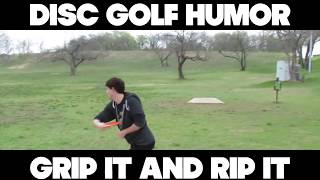 Disc Golf Humor Montage Video