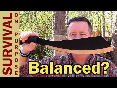 Schrade Parang Machete Review and Balance Test