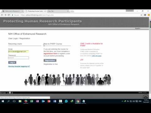 NIH certificate of protecting human research participants