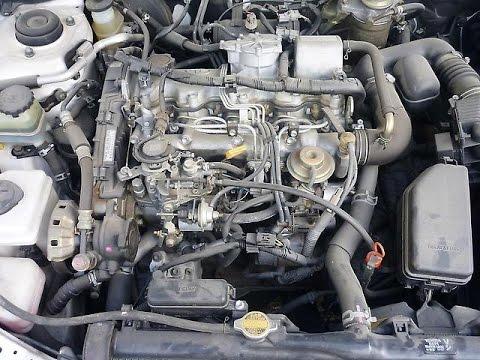Ремонт двигателя 2С, Тойота Корона