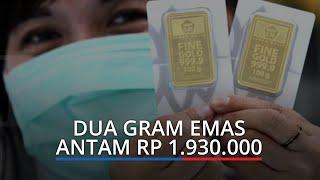 Harga Emas Hari Ini di Pegadaian Padang, Dua Gram Emas Antam Rp 1.930 000