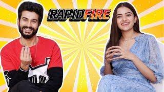 Most FUNNIEST RAPID FIRE With Bhangra Paa Le Stars Sunny Kaushal & Rukshar Dhillon