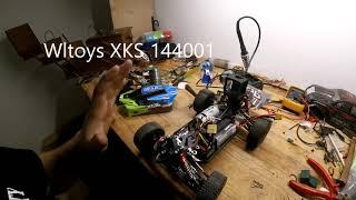 Wltoys XKS 144001 FPV Mod ( Test 1)