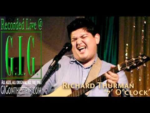 Richard Thurman live at GIG