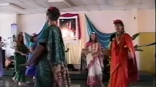 Tara Prayer Dance w beloved Starfire @then Maui Community College in the 1990s