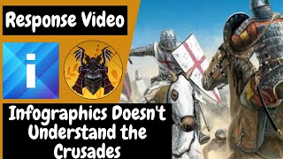 Infographics Doesn't Understand the Crusades (A Response Video)