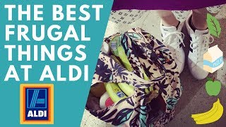 The BEST THINGS at ALDI - Top 10 Frugal Foods - SHOP WITH ME