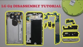 LG G5 Disassembly Tutorial - Teardown Guide