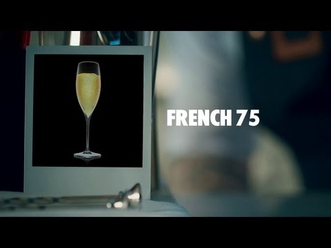 Video FRENCH 75 DRINK RECIPE - HOW TO MIX