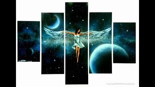 Angel Painting _Spray Paint Art- By Antonipaints Art - Creative Art - Do It Yourself