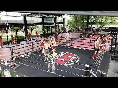 One Minute Inside The Muay Thai Program At The AKA Thailand Super Gym! July 20 2018 – Phuket