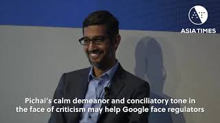 Sundar Pichai takes over as Alphabet CEO