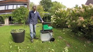 aldi gardenline woodchipper test 2017