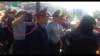Срыв акции протеста в Алматы