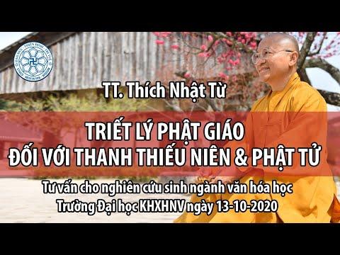 Triết lý Phật giáo đối với thanh thiếu niên & Phật tử