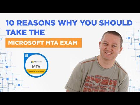 Microsoft MTA Exam - 10 Reasons to Take Them - YouTube