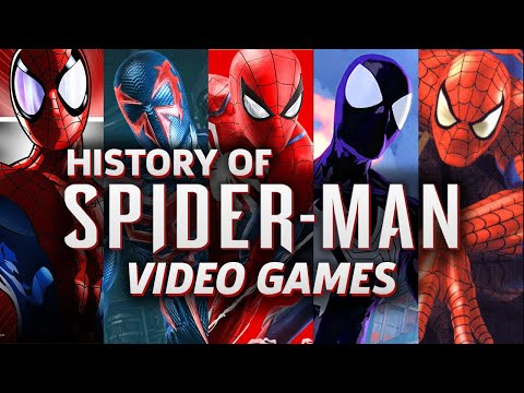 蜘蛛人歷年來電玩的進化史~你覺得哪個最經典呢?