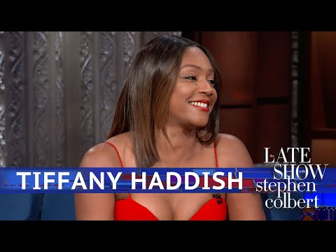 Tiffany Haddish Doesn't Need Men, She Has A Blanket