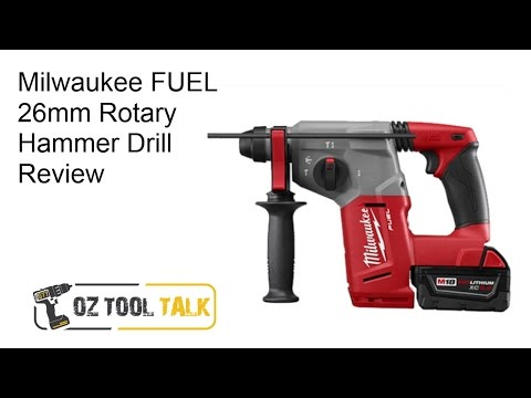 Milwaukee FUEL 26mm Rotary Hammer Drill – M18 CH / 2712 Review