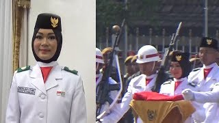 Sempat Panik, Berlian Sukses Bawa Bendera Merah Putih hingga Berkibar
