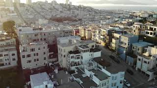 Flying high in San Francisco – Drone video