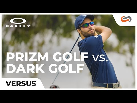 Oakley Prizm Golf vs Dark Golf Lenses | SportRx.com