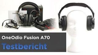 OneOdio Fusion A70 - Preiswerter Bluetooth-Kopfhörer - Zwei Klinkeanschlüsse