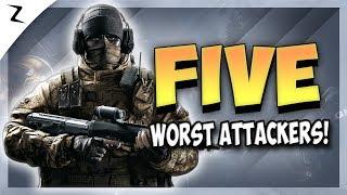 5 Worst Attacking Operators - Rainbow Six Siege