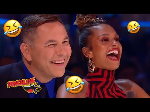 Twin Stand Up Comedian leaves everyone laughing on Britain's Got Talent