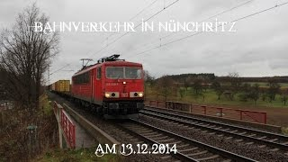 preview picture of video '☆☆☆ Bahnverkehr in Nünchritz ☆☆☆'