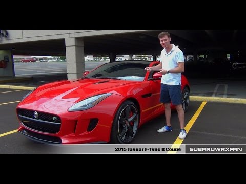 Review: 2015 Jaguar F-Type R Coupe