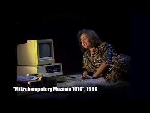 Polskie Komputery - Mikrokomputer Mazovia 1016 - film reklamowy