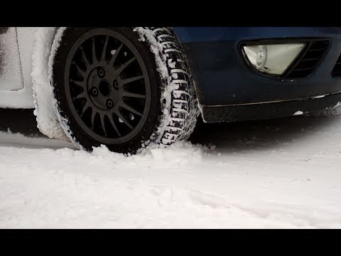 Nokian WR D4 snow test in Alps