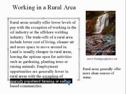 Advanced Learning English Lesson 3 - City vs Rural Life - Vocabulary and Pronunciation