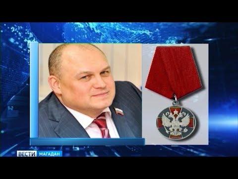 Игорь Донцов получил медаль ордена «За заслуги перед Отечеством»