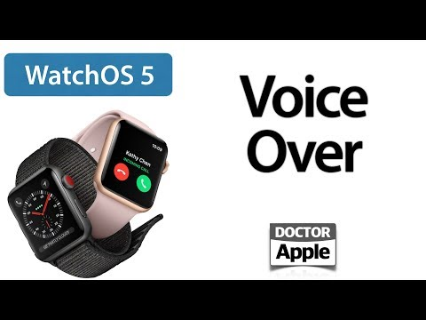 Curso Apple Watch - Voice Over