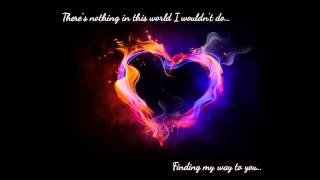 Liefdeskaarten, Finding My Way To You David Nail romantic