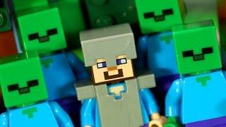 Лего Майнкрафт Мультфильм - Анимация на русском языке. Lego Minecraft Animation