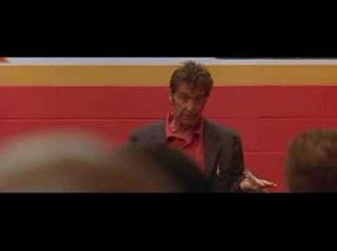 Discours de motivation d'Al Pacino pour le SUPERBOWL